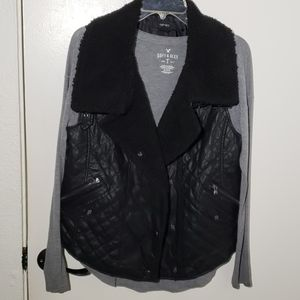 Forever21 Faux leather Vest